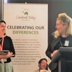 Dr Haley Smithers-Sheedy (L) and Prof. Iona Novak, Cerebral Palsy Alliance.